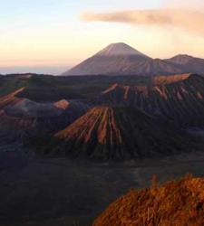 Mount Bromo, one of the most attractive volcanoes of Indonesia