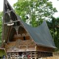 Lake Toba: traditional house